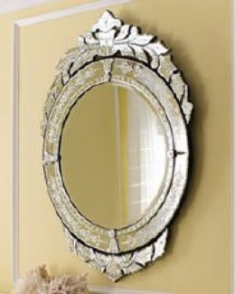 Ornate and intricate, this mirror is a real jewel