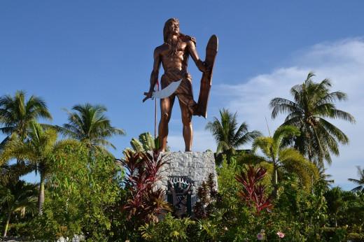Statue of Raja