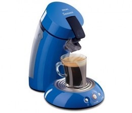Philips Senseo HD7810-75 Single-Serve Coffee Machine in Blue