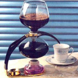 Cona D Vacuum Coffee Maker Gold
