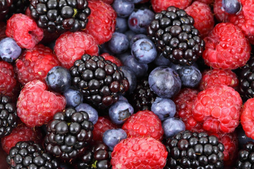 Berries are rich in Antioxidants