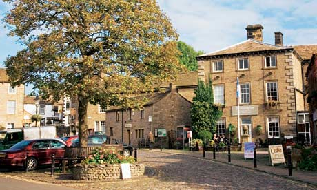 Grassington in Wharfedale, starting point for our family jaunt