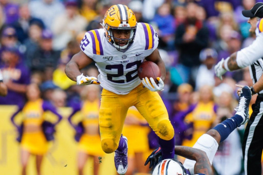 Clyde Edwards-Helaire, RB, LSU