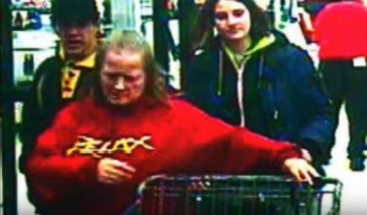 A man, along with two other individuals were seen on surveillance video using Deanne's credit cards in Spokane and Spokane Valley.