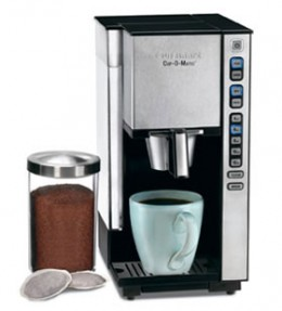 Cuisinart Cup-O-Matic Single Serve Coffee Maker SS-1C