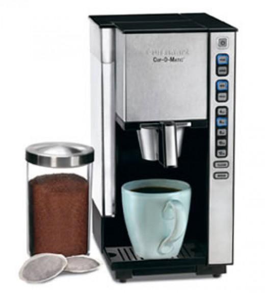 Cuisinart Cup-O-Matic Single Serve Coffee Maker SS-1C