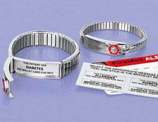 If you or a loved one has a severe allergic reaction to insect stings you or they should wear a medical alert bracelet.