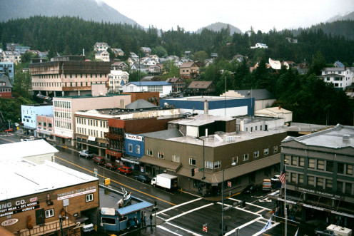 Downtown Ketchikan, Alaska