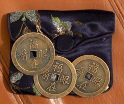 I ching coins for divination