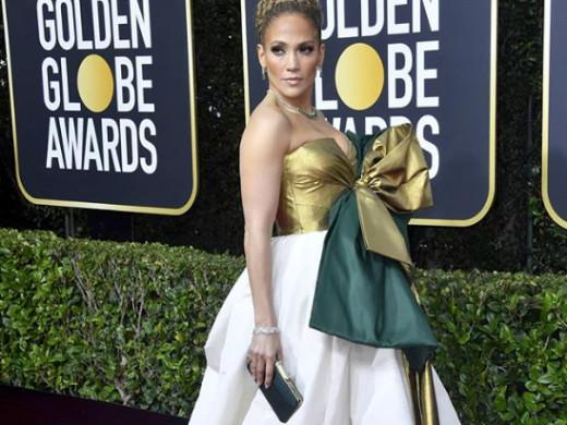 Jenifer Lopez, Golden Globes Red Carpet – 2020