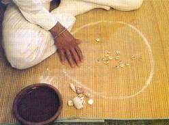 Orisha Dilogun divination