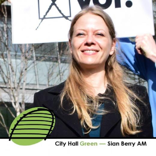 Sian Berry, Greens.
