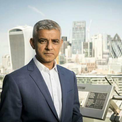 Current Mayor:  Sadiq Khan, Labour.