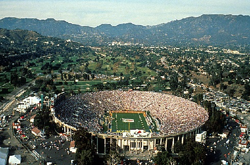 Rose Bowl Stadium as it appears today