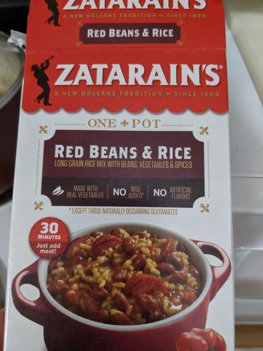 This is the version of Zatarains that we used.