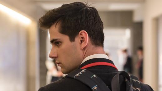 """Pedro """"Polo"""" Benavent, portrayed by Álvaro Rico (Elite)"""