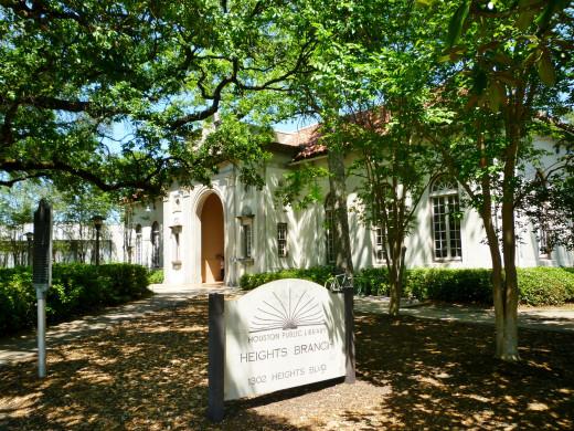Houston Heights Neighborhood Library