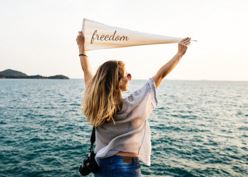 The single life is freedom