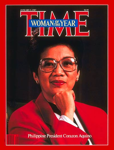 President Corazon Aquino, Time Magazine's Woman of the Year
