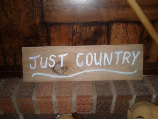 One of my handmade signs