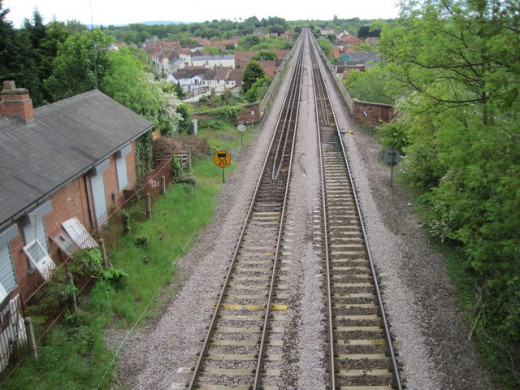 Site of the original Yarm station, later to become part of the Leeds Northern (in 1854 the North Eastern) Railway