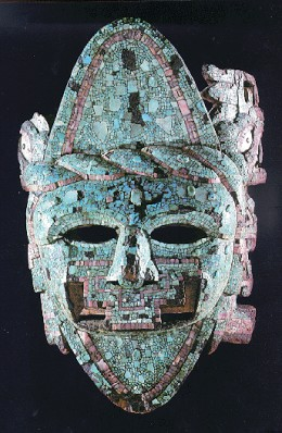 This Aztec ceremonial mask had an important function once. Now it is an artifact. What does this mask tell us about its people?