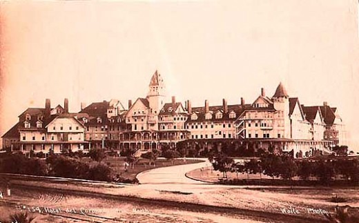 Hotel Del Coronado... a long time ago.