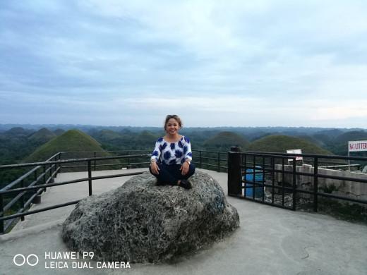 The Chocolate Hills of Bohol.