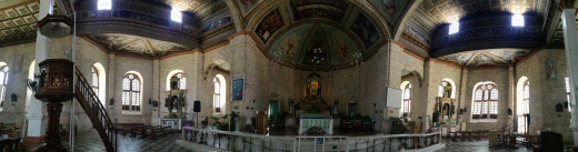 The beauty of Baclayon Church.