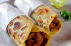 Spicy Chicken Tikka Masala Wraps