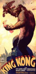 Poster from the original King Kong 1930's film.