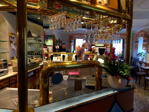 Inside Café König