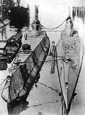 HMCS CC-1 and HMCS CC-2, 1914