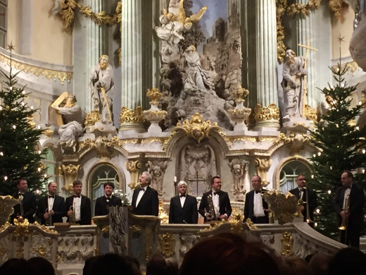 Frauenkirche concert which my friends booked months in advance