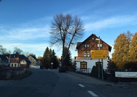 Driving around Annaberg-Bucholz area