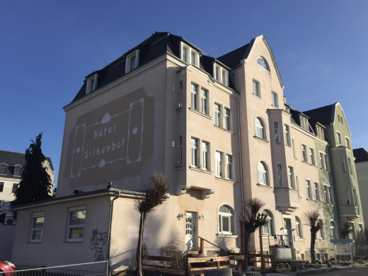 We stayed in the Silberhof Hotel over New Year