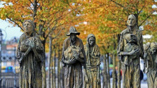 The Irish immigrants