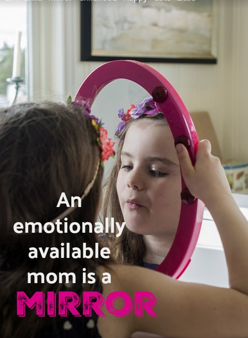 An emotionally absent mother is too busy, stressed out, or checked out to see who her daughter really is.
