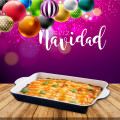 Enchilada Casserole for Christmas Dinner