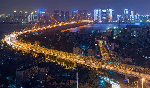 Wuhan is a modern Chinese city similar in size to New York