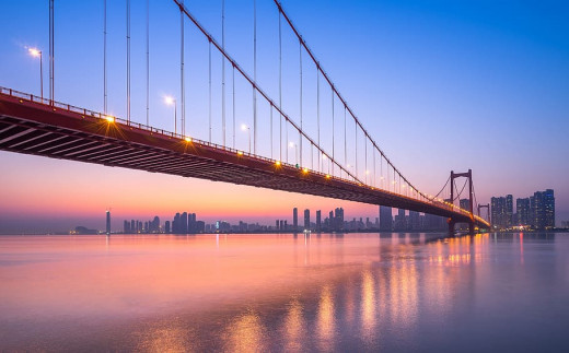 Today, Wuhan is a large, bustling modern city that sits on the banks of the Yangtze River.