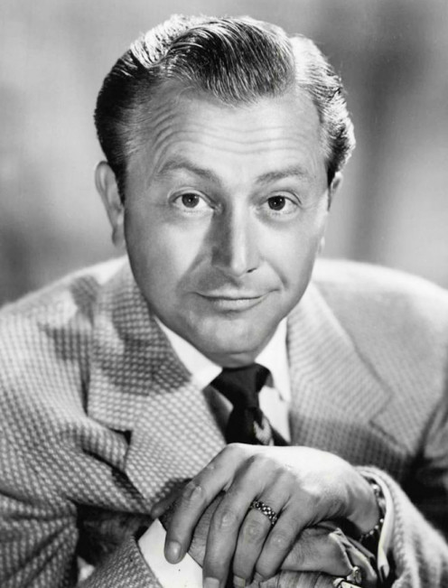Robert Young, not Gig Young, in a 1957 publicity shot for Father Knows Best.