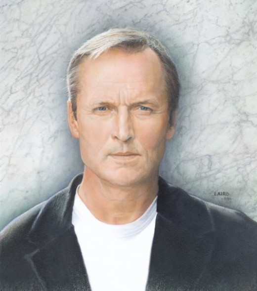 John Grisham illustration for BOOM Magazine.