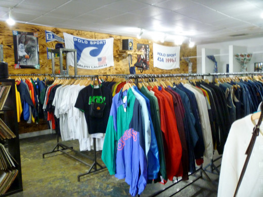 Another view of the interior of the lo-fi store