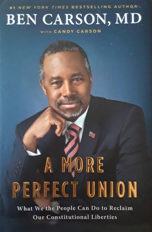 Dr. Carson deeply loves the Constitution and has written several books on it.