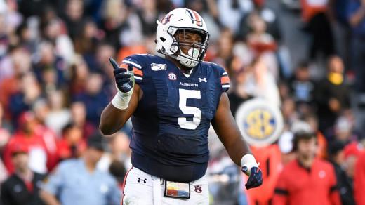 Derrick Brown, DT, Auburn