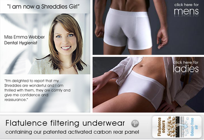 As they don't show any images of their shreddies flatulence underwear, I don't somehow think it looks as good as the above...