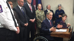 Texas Governor Greg Abbott Fights Coronavirus With Disaster Declaration In Texas