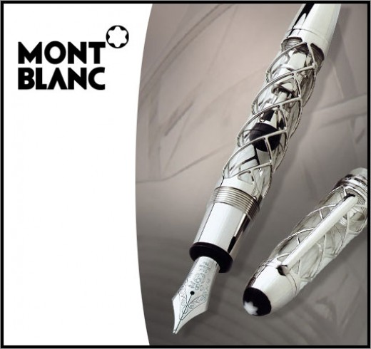 Montblanc Fountain Pen (Skeleton)