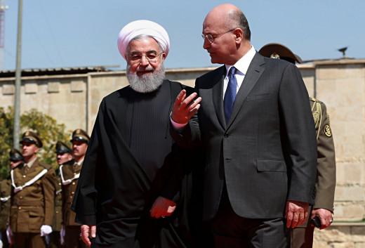 Irans supreme leader visits Baghdad